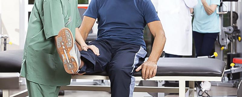 prótesis de rodilla rehabilitación