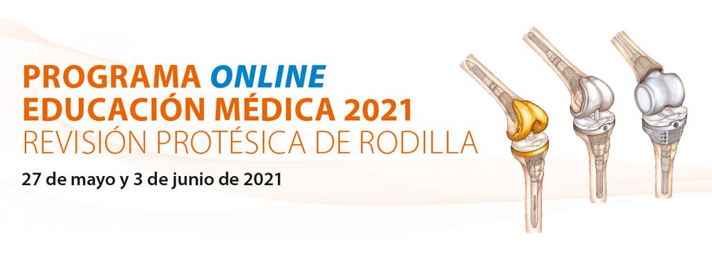 Programa Educación Médica 2021: Revisión  Protésica De Rodilla